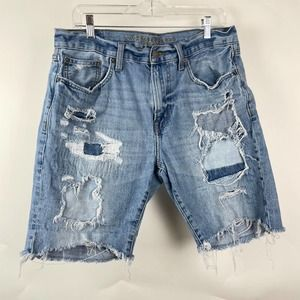 American Eagle Distressed Denim Men's Shorts